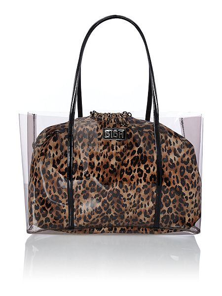 Biba Perspex jelly beach bag £41.30  click to visit House of Fraser