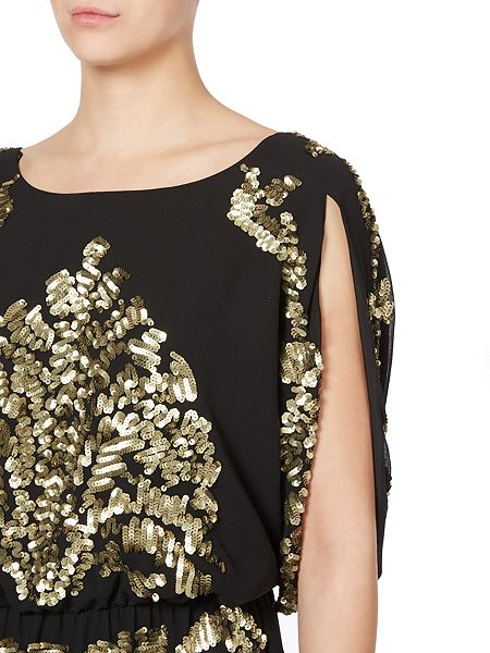 Biba Embellished v back dress £135 click to visit House of Fraser