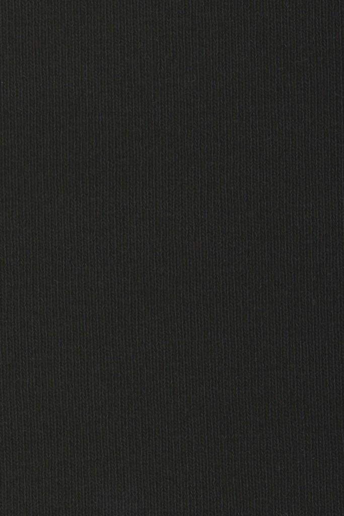 Black jersey swatch