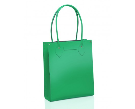 Green Leather Tote Bag £63 click to visit Zatchels