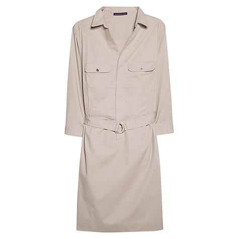 Violeta by Mango Belt Shirt Dress, Light Beige £44.99 click to visit John Lewis