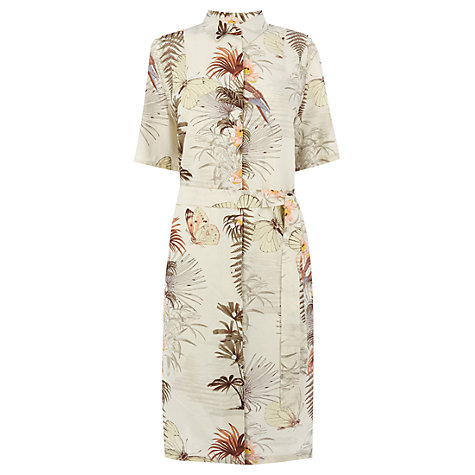 Warehouse Palm Print Shirt Dress, Multi £45 click to visit John Lewis