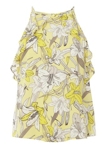 Lemon Orchid High Neck Cami     Was £20.00 now £16 click to visit Dorothy Perkins