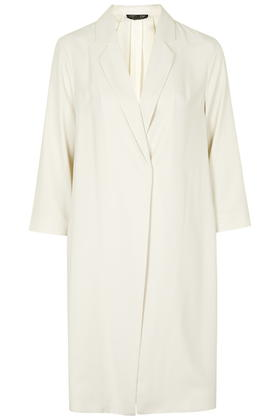 Side Split Throw-On Coat     Price: £75.00 Click to visit Topshop