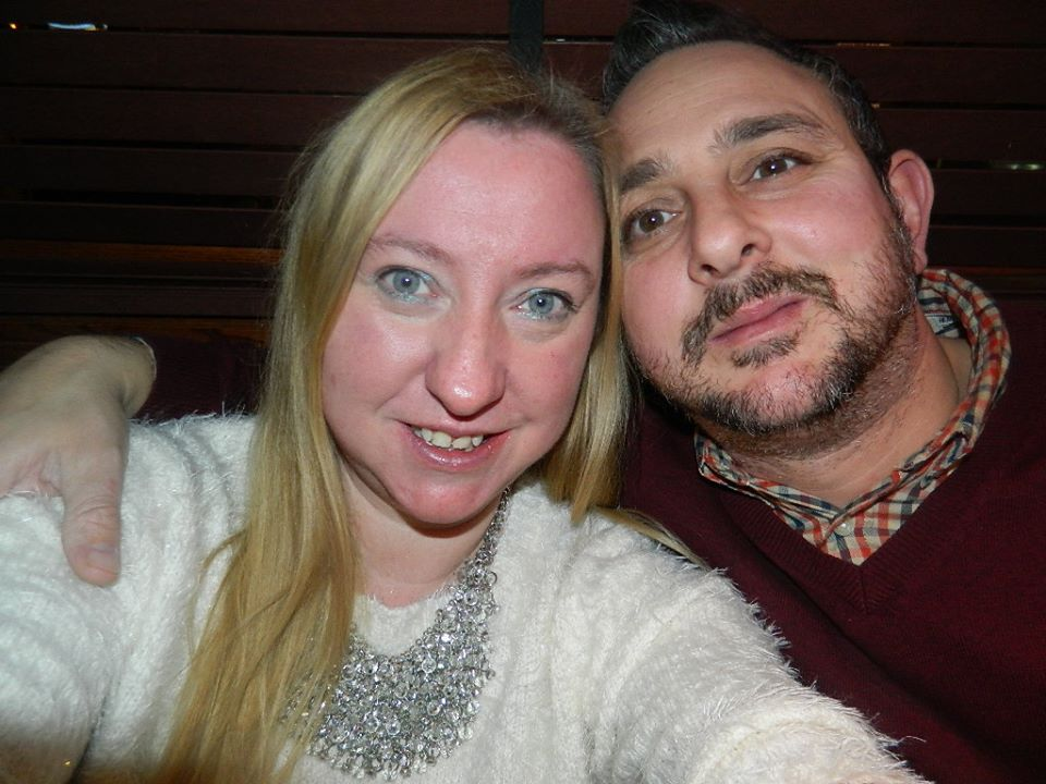 New year's Eve Selfie with the hubby