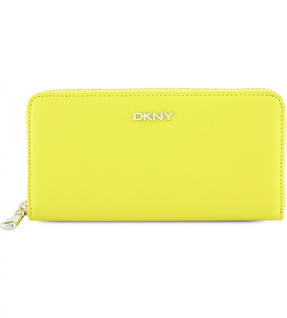 DKNY Bryant Park leather zip-around wallet     £70.00 click to visit Selfridges