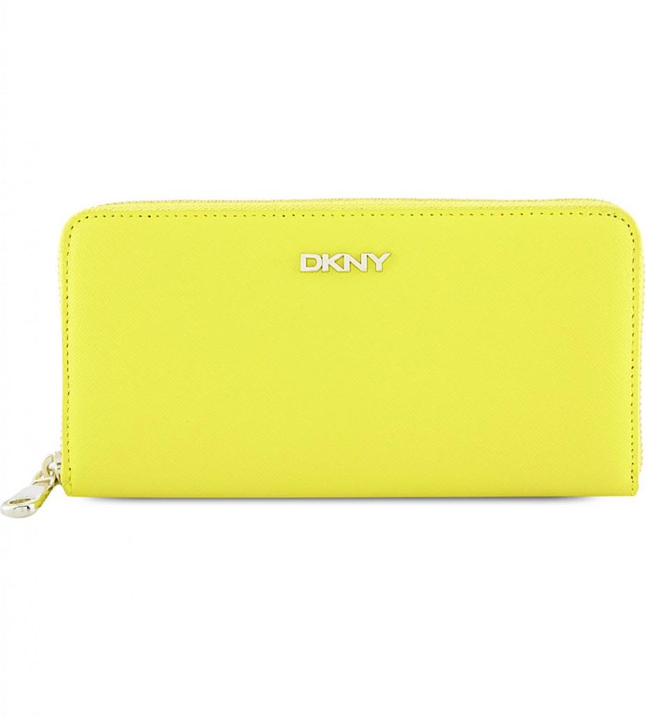 DKNY Bryant Park leather zip-around wallet     £70.00 click to visit Selfridges