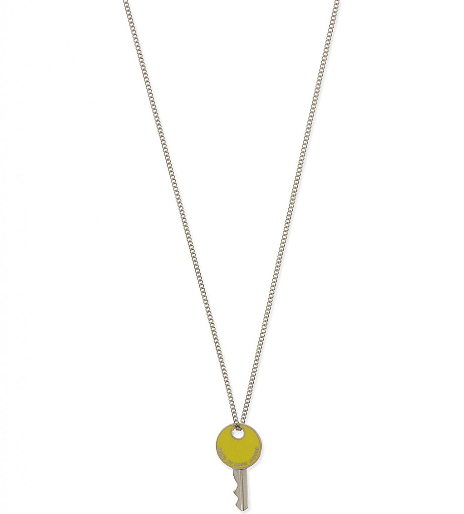 MARC BY MARC JACOBS Enamel lock in pendant     £60.00 click to visit Selfridges