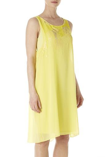 Lime Embellished Dress Price: £45.00 click to visit Wallis