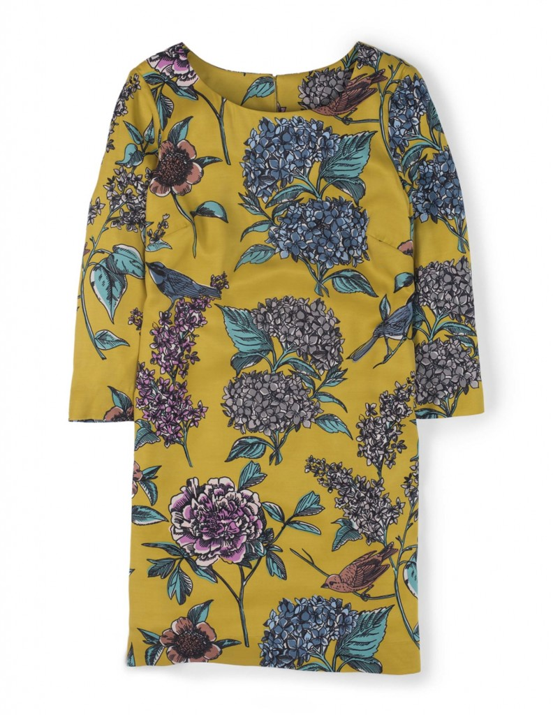 Eliza Tunic Dress WH793 Was 99.00 Now £59.40 To £74.25 click to visit Boden