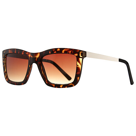 John Lewis Rectangle Frame Sunglasses, Tortoiseshell £20 click to visit John Lewis