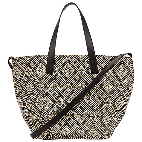 Collection WEEKEND by John Lewis City Straw Shoulder Bag, Multi £39 click to visit John Lewis