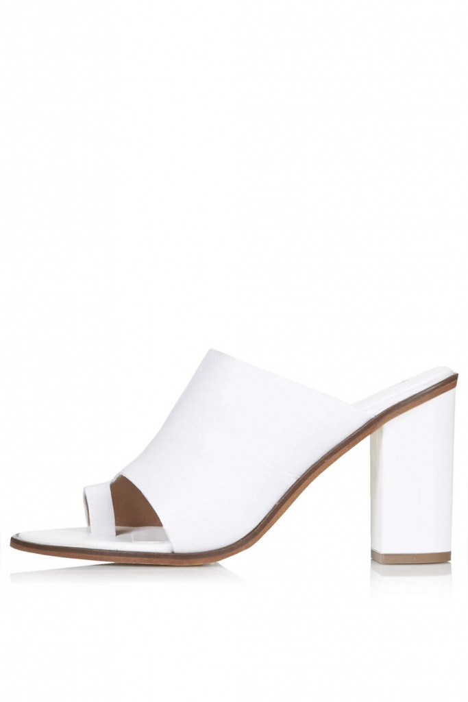 GLAM Toe Loop Mules     Price: £68.00 click to visit Topshop