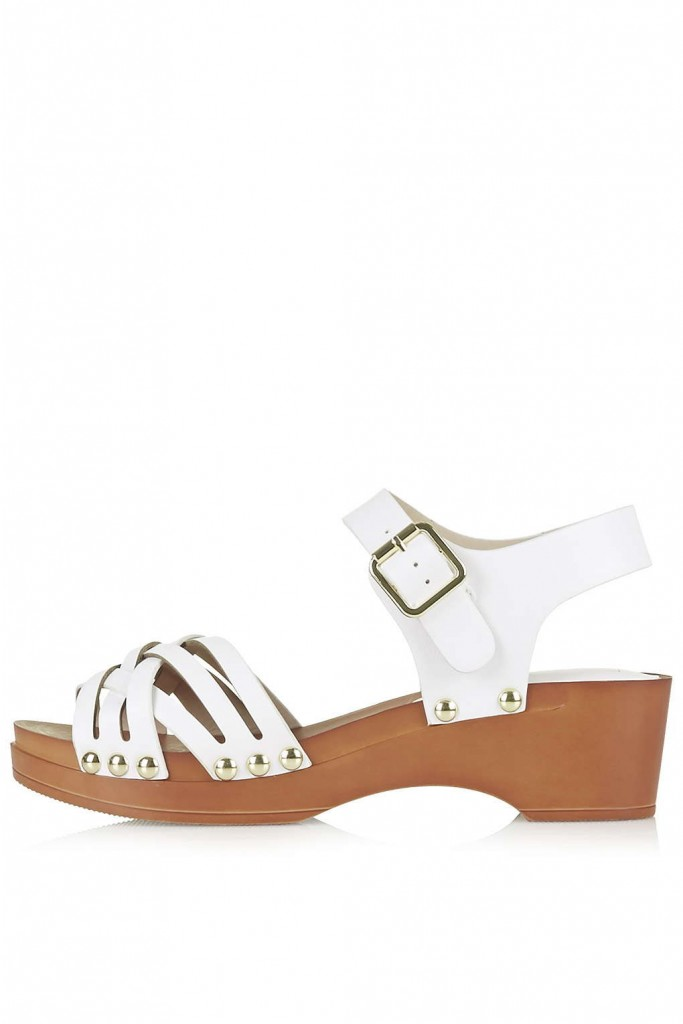 HANOI Clog Sandals     Price: £28.00 click to visit Topshop