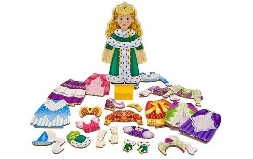 Princess Elise - Magnetic Dress-Up Doll £11.95 click to visit Wicked Uncle