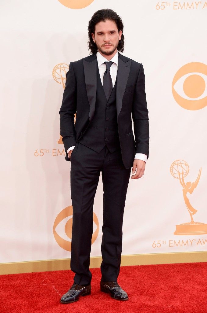 Game-Thrones-star-Kit-Harington-smoldered-Emmys-red-carpet