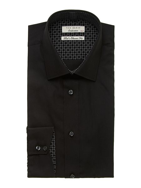 Ted Baker Jacapo Plain Regular Fit Shirt £60 click to visit House of Fraser