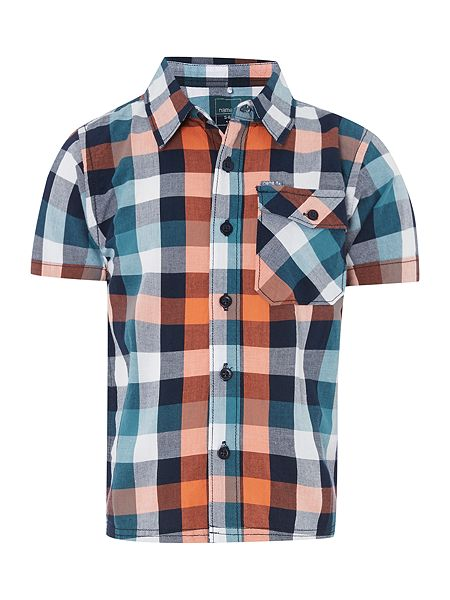 name it Boys Short Sleeved Check Shirt now £10.40 click to visit House of Fraser