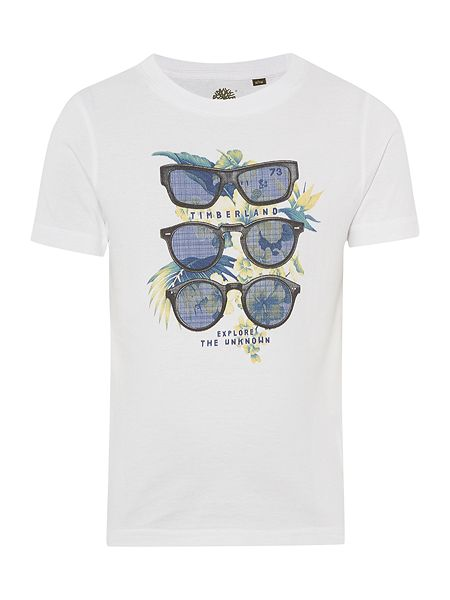 Timberland Boys organic short sleeves tee-shirt now £20.30 click to visit House of Fraser