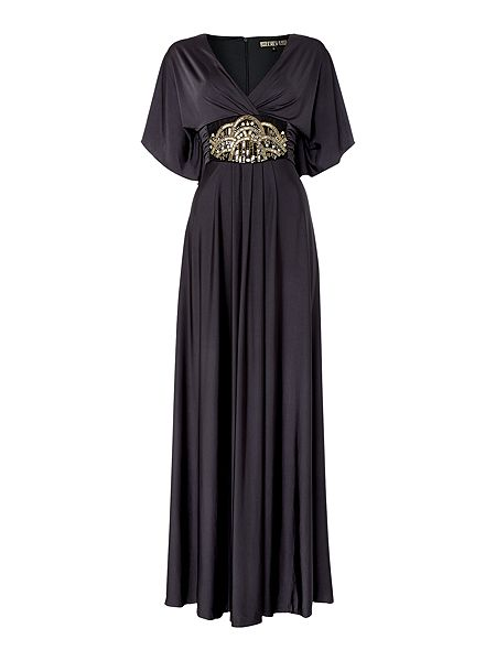 Biba Embellished waist maxi dress £169 click to visit House of Fraser