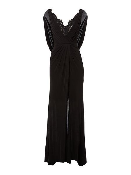 Biba Lace detail limited edition maxi dress £595 click to visit House of Fraser