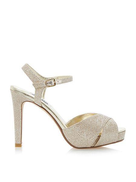 Dune Marleen crossover strap high heel sandals £75 click to visit House of Fraser