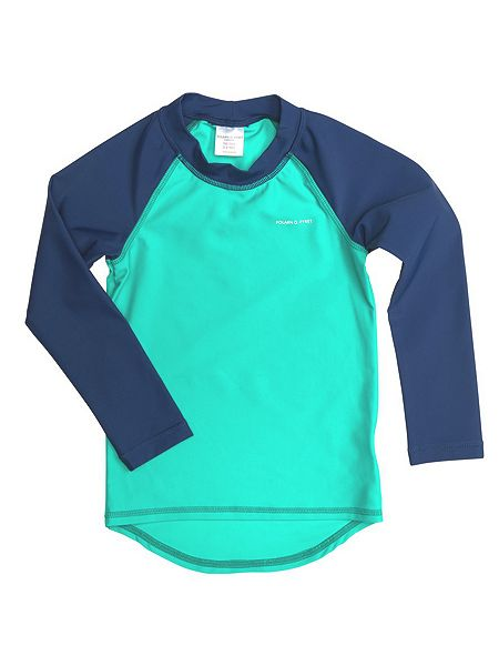 Polarn O. Pyret Kids uv sun safe swim top now £16 click to visit House of Fraser