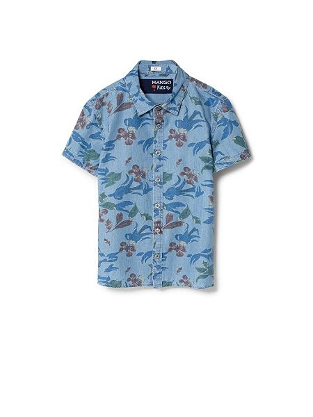 Mango Boys Floral Denim Shirt £16.99 click to visit House of Fraser