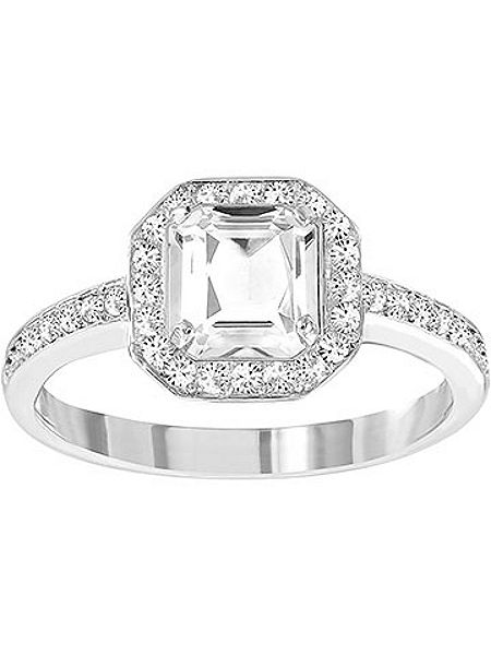 Swarovski Attract light square ring £99 click to visit House of Fraser