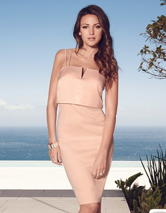 Michelle Keegan 2 In 1 Cami Dress £65 click to visit Next