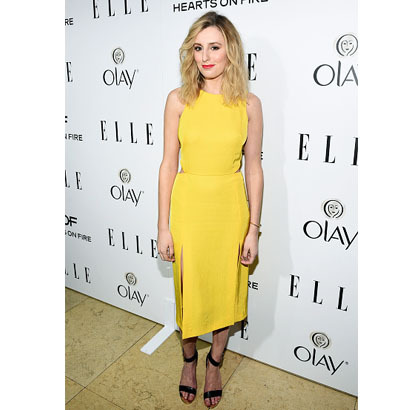 Laura-Carmichael-Trend-Yellow-Dress-in-2015-Fashion-Trends