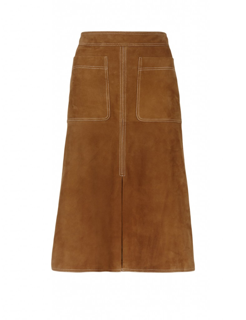 AUTOGRAPH Suede Straight Skirt T507222     £199.00 click to visit M&S