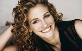 Julia Roberts is famous for her Hollywood smile.