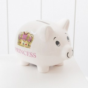 Princess Traditional Money Box £12 click to visit My 1st Years