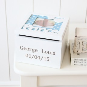 Personalised Prince Keepsake Box £15.00 click to visit My Ist Years