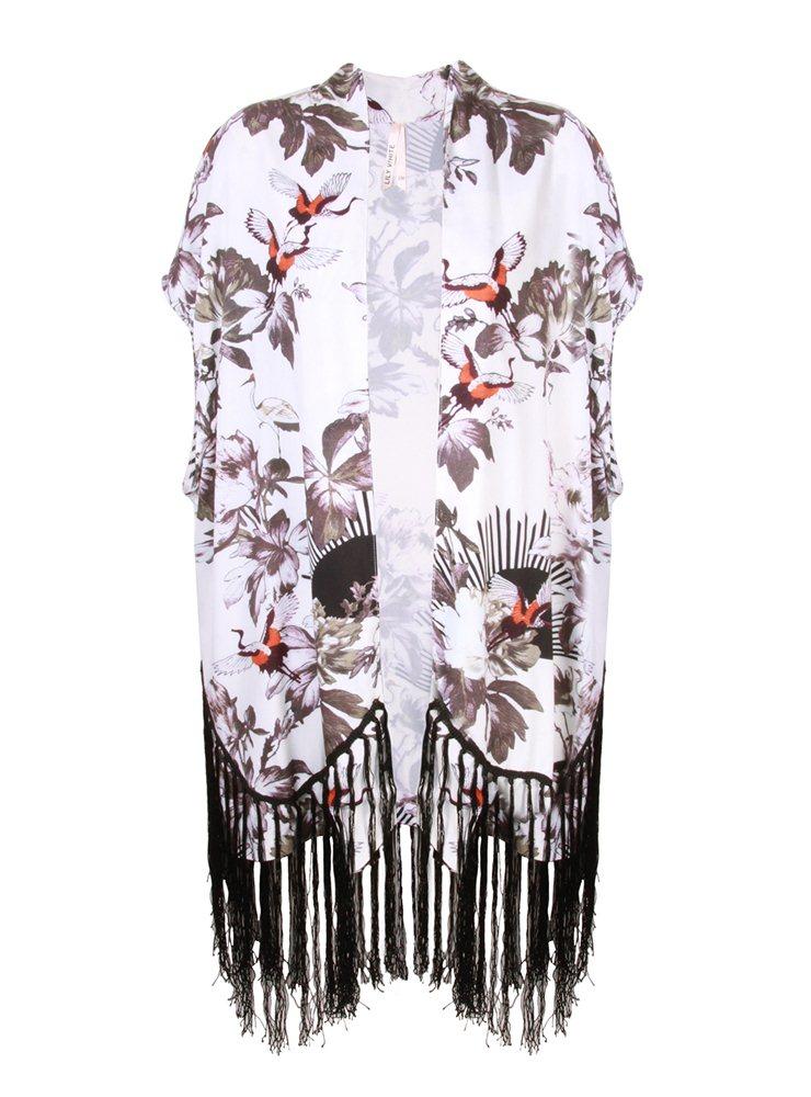 PPB White Oriental Tassel Kimono £35.00 click to visit Pretaportabello
