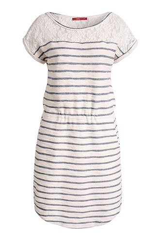 dress in an inside-out look £ 39.00 click to visit Esprit