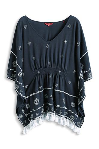 100% ethnic-look jersey top     £ 29.00 click to visit Esprit bright natural-look shopper £ 45.00 click to visit Esprit