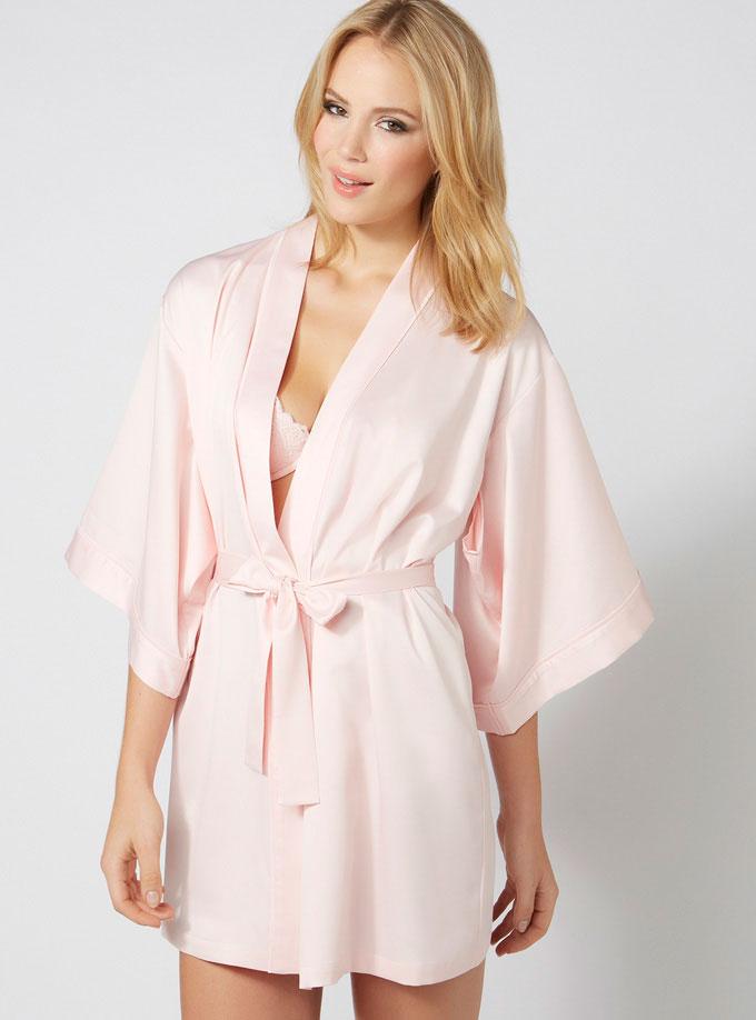 """Misha """"Bridesmaid"""" kimono £45 click to visit Boux Avenue"""
