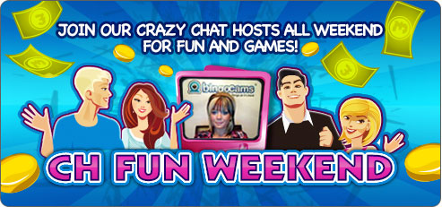 Bingocams run special events with chat hosts.