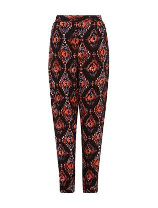 Black Aztec Print Joggers £17.99 click to visit New Look