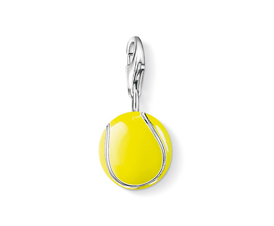 Thomas Sabo Tennis Ball Charm now £24 click to visit Silvertree