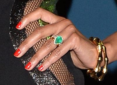 Zoe Saldana Engagement Ring