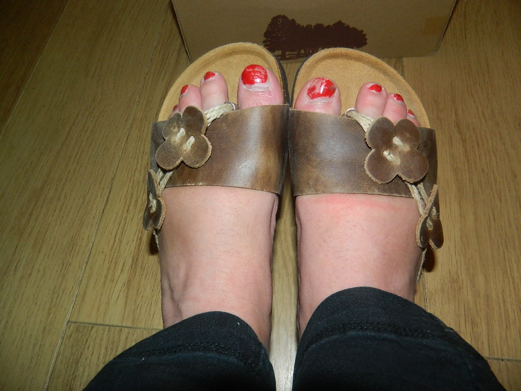87062f8c4aa2 The sandals are comfortable – you need to let them mould to your feet a  little first