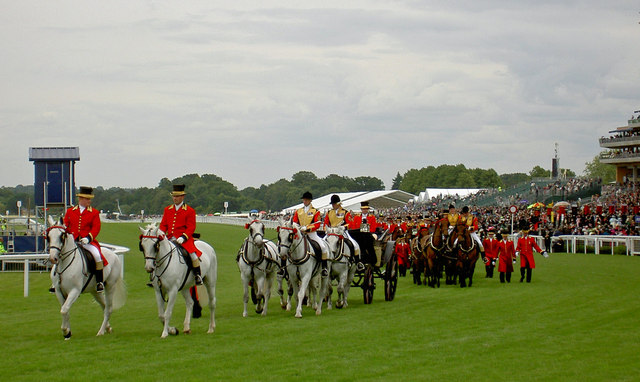 Image Source - http://upload.wikimedia.org/wikipedia/commons/e/e5/The_Royal_carriages_leave_after_carrying_The_Queen_to_the_races_-_geograph.org.uk_-_852016.jpg