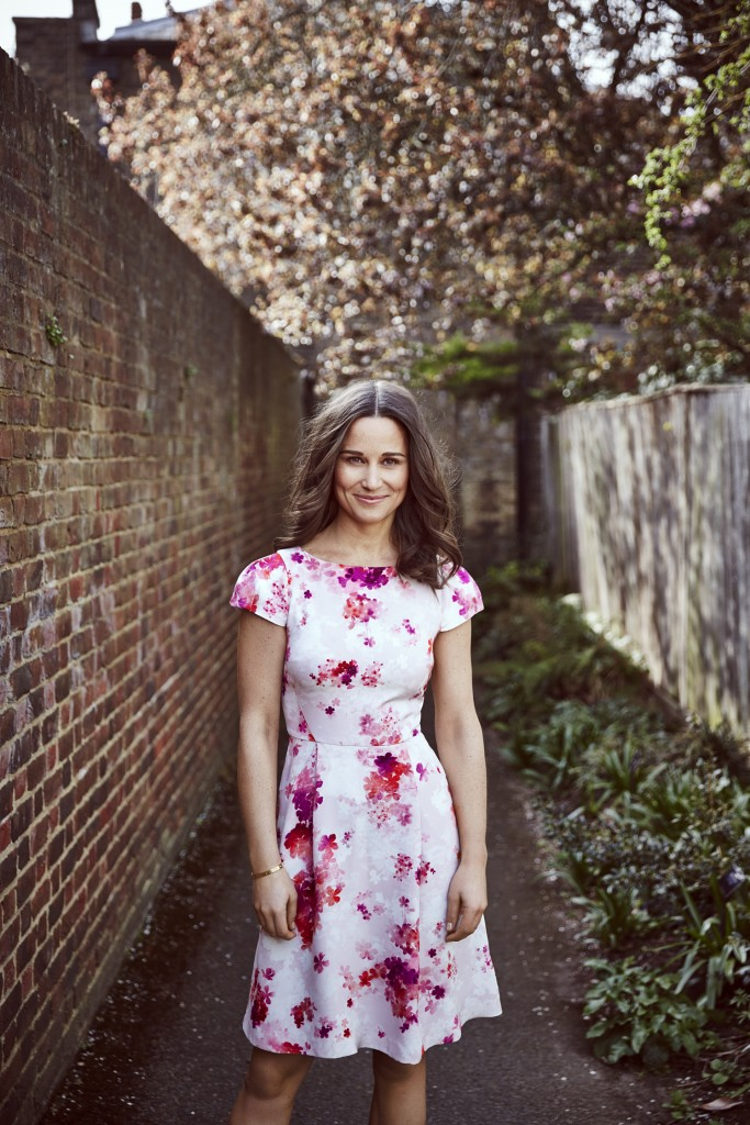 Pippa Middleton wears the BHF dress