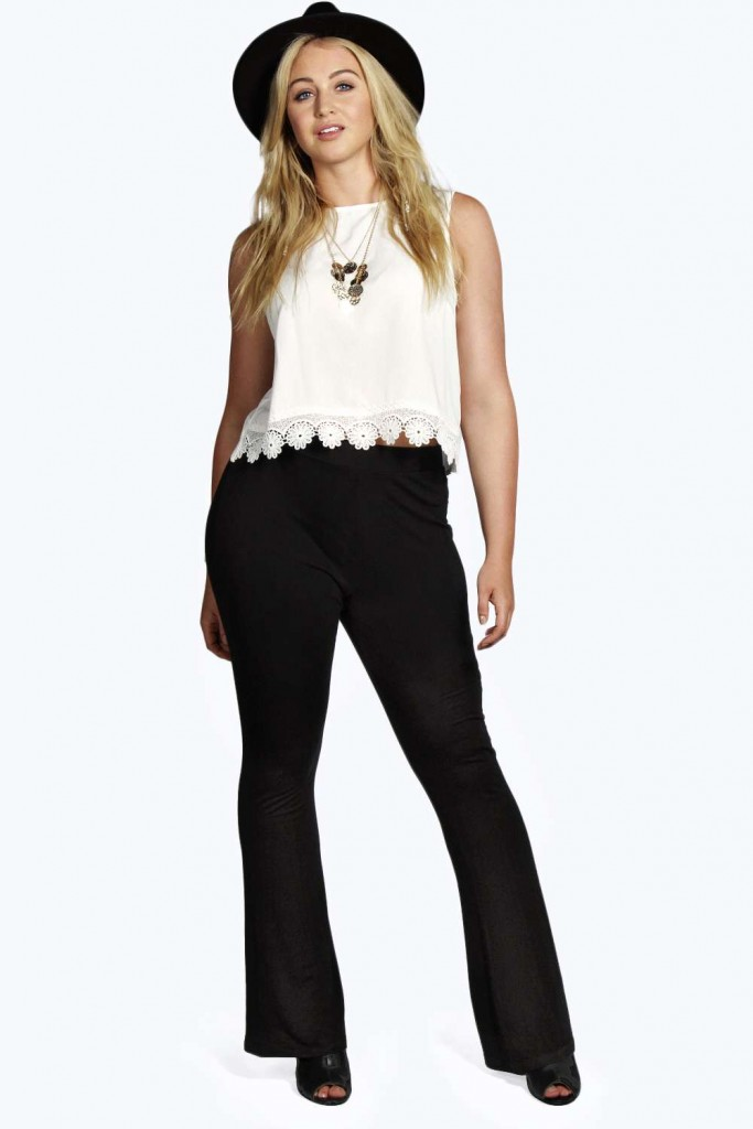 Saffron Flared Trouser £15 click to visit Boohoo