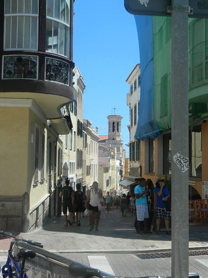 The Main shopping Street in Mahon