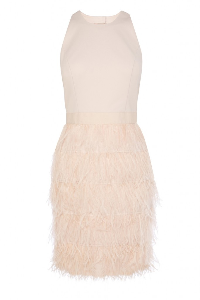 JANIER FEATHER DRESS – Was £250.00 Now £149.00 click to visit Coast