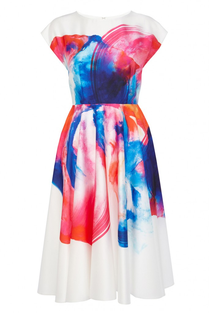 HYPER BLOOM PRINT DRESS – Was £150.00 Now £99.00 click to visit Coast